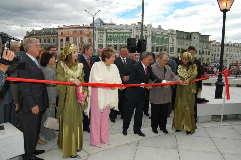 Открытие Петербуржской улицы